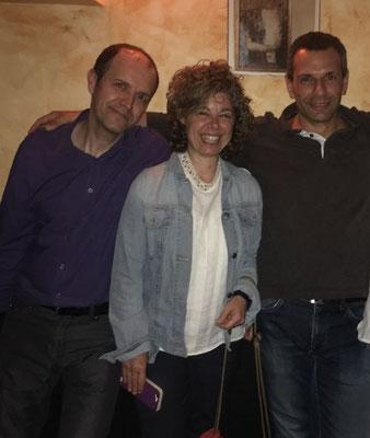Pepe, MªÁngels y Óscar