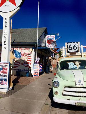 Angels Delgadillo's barbershop, Seligman Arizona