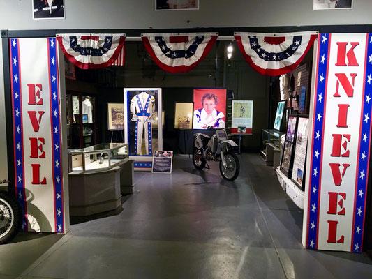 Evel Knievel - Vintage Iron Motorcycle Museum, St.Miami Oklahoma