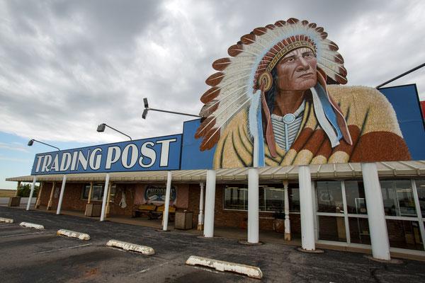 Cherokee Trading Post, Clinton Oklahoma