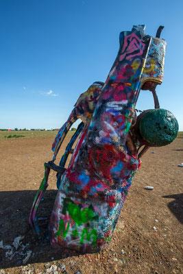 Cadillac-Ranch, Potter County Amarillo Texas