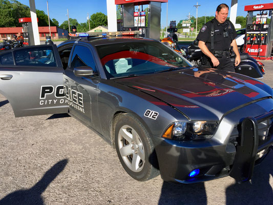Police Car from Duquesne Missouri