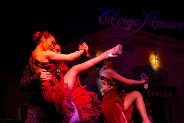 Tango Abend im - El Viejo Almacén (http://www.viejoalmacen.com.ar)