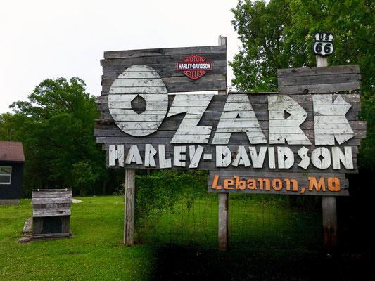 Harley Dealer, Lebanon, Missouri