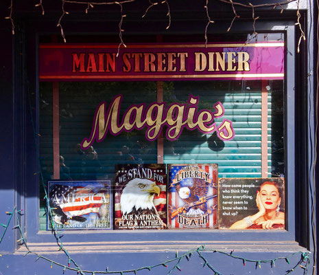 Maggie's diner (From Wild Hogs Movie Set with John Travolta), Madrid, New Mexico
