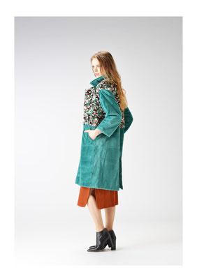 Mink camouflage coat