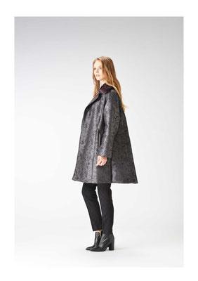 Mink weasel thinsulate reversible coat