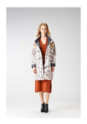 Rabbit DF reversible coat