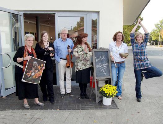 V.l.n.r.: Cornelia Dahlmann, Caroline Dahlmann, Willi Hartmann, Monika Wunderlich, Anke Rybak, Simone Schomäker