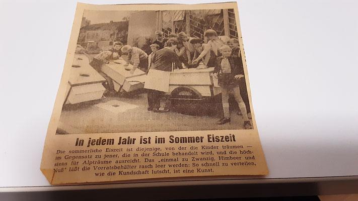 © Lübecker Nachrichten, Eisdiele Knode, Ellerbrook, Lübeck, ca. 1958
