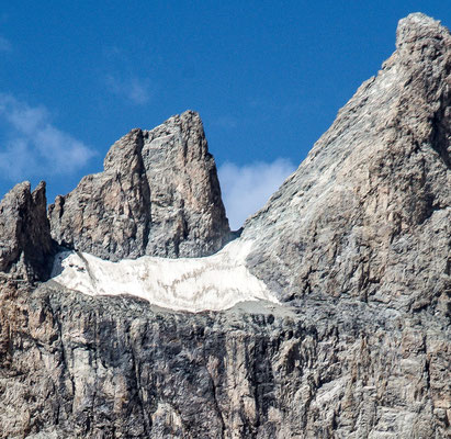 Ete 2017, le glacier Carré en fin de vie ? photoby100drine (extrait) merci