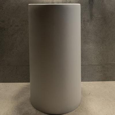 Apvalus pastatomas balto akrilinio akmens praustuvas restorano wc / gamintojas - Gforma