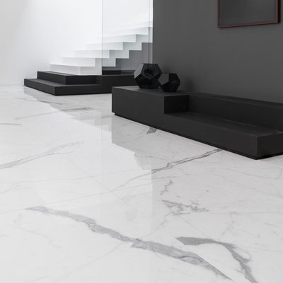 Balto marmuro grindys