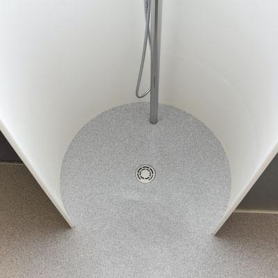 Lenkta dušo kabina iš akrilinio akmens / gamintojas - Gforma