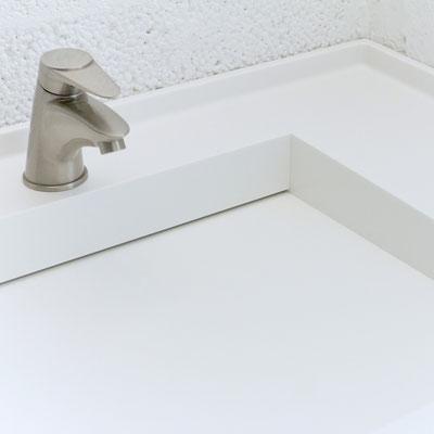 Balto akrilinio akmens praustuvas lupis / gamintojas - Gforma