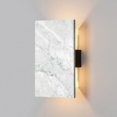 Marmurinė šviestuvo dekoracija