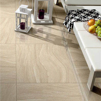 Smiltainio plytelių grindys