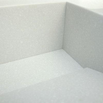Baltas akrilinio akmens praustuvas / gamintojas - Gforma