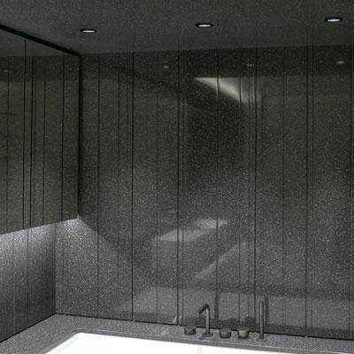Dušo siena iš akrilinio akmens / gamintojas: Gforma