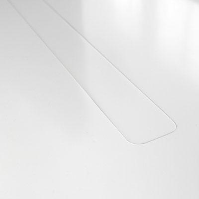 Palangė iš akrilinio akmens su uždengiama išpjova virš radiatoriaus šiltam orui cirkuliuoti / gamintojas - Gforma