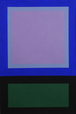 Im Quadrat n°3, 2 von 3, 2016, Vinyl auf Bütten, 20 x 30 cm,