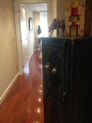 Caja Fuerte decorando la vivienda de un cliente