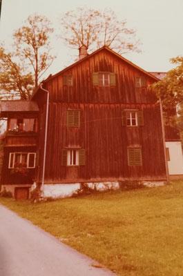 Das Haus um 1930