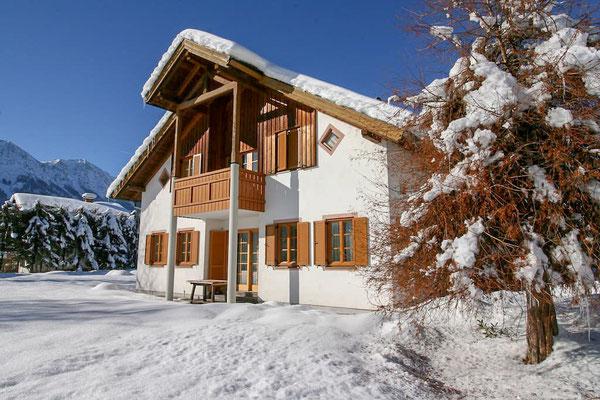 Winter im Salzkammergut, Villa Anna