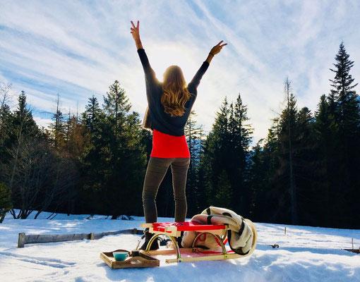 Winterfreuden am Dachstein