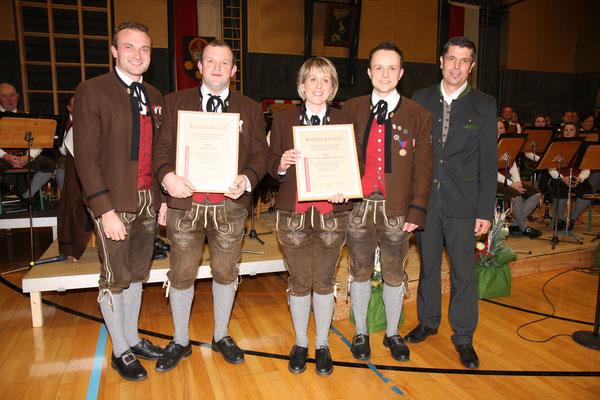 Cäciliakonzert 2018 - Verleihung Ehrenzeichen in Silber für 25 Jahre Mitgliedschaft