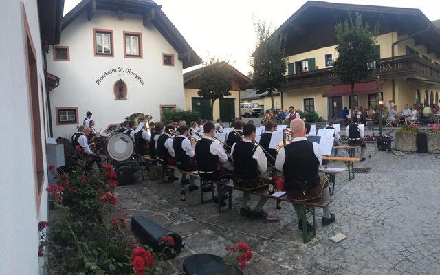 Platzkonzert 2020_Trachtenmusikkapelle Bad Vigaun