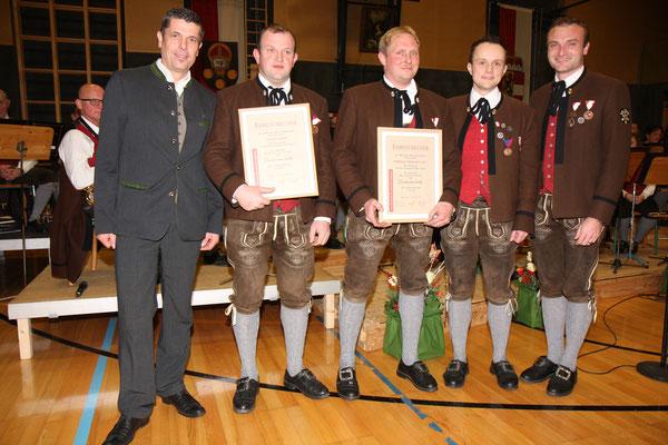 Cäciliakonzert 2018 - Verleihung Dankesmedaille in Bronze