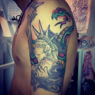 自由の女神タトゥー,