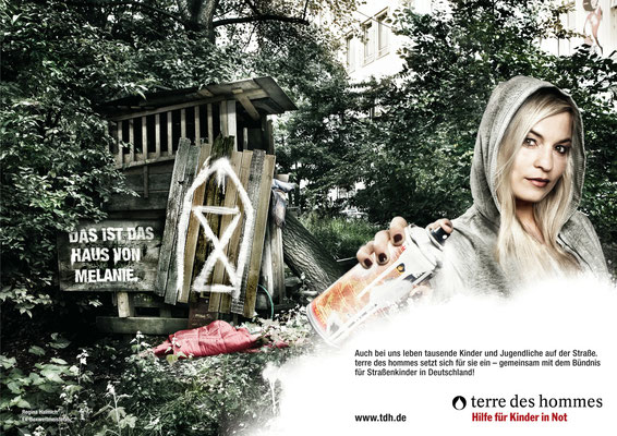 Photo: Andrea Küpper/ H&M: Melina Johannsen for Terre de Homme