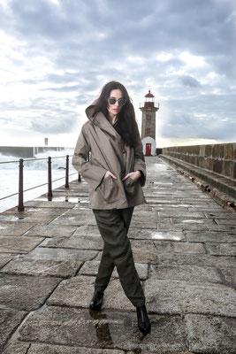Fair Fashion from Raffauf, Lana Organics, Antonio Verde Eco Sunglasses - Model: Inés (DXL Models) - Photoproduction by Melina Johannsen & Boris Bärmichl