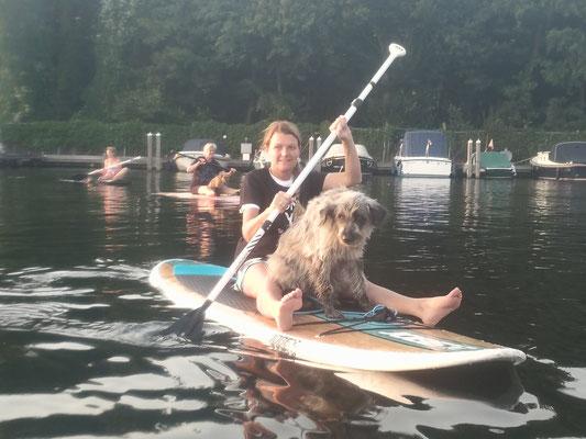 SUP met je hond