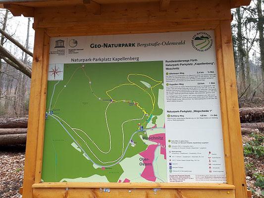 Geo-Naturpark im Odenwald