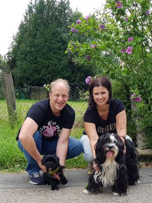 29.07. Anja und Martin mit Pepper