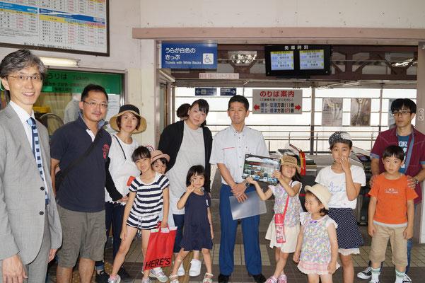 JR今宿駅にてお花と一緒に日頃の感謝の気持ちを伝えてきました!