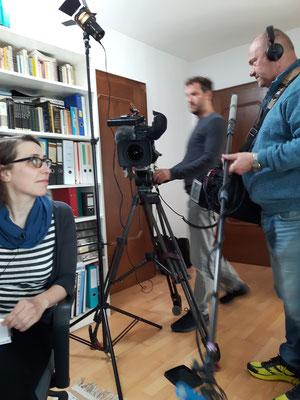 奥地利国家电视台拍摄组