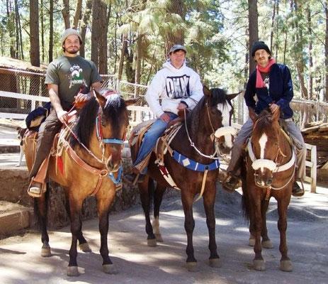 Paseo a Caballo en la Sierra de Tapalpa