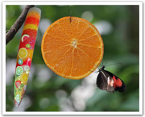 Zaubert eine einzigartige Verführung aus saftigen Früchten auf Ihren Nägeln.
