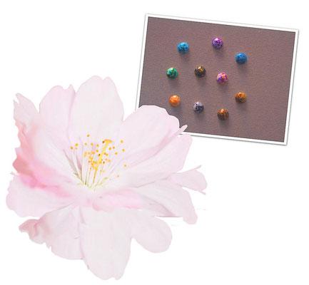 Perlen ob Rund oder Halb sind im Nageldesign immer zeitlos schön.