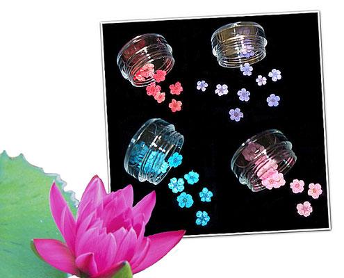 Ein Blumendekor auf Fingernägeln mit echten Blüten kreiert ist schon etwas sehr besonderes und einmalig.