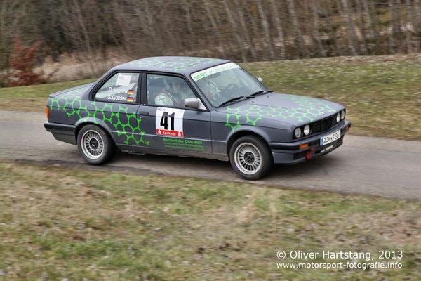# 41 - H14 - Dietmar Iwaniw (Eschach) & Sven Geißler (Hohenstadt) / BMW E 30 vom MSC Untergröningen