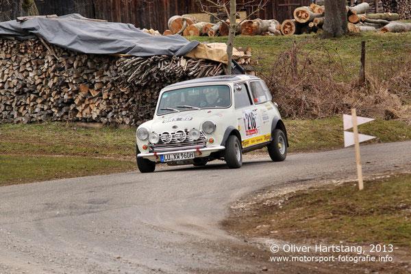 # 216 - Karlheinz Wagner (Ludwigshafen) & Günther Dietl (Mannheim) / Austin Mini Cooper S vom AMC Ludwigshafen