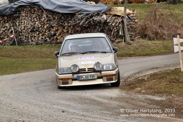 # 232 - Dieter Sohns (Böhl-Iggelheim) & Torsten Kertz (Weidenthal) / Opel Manta