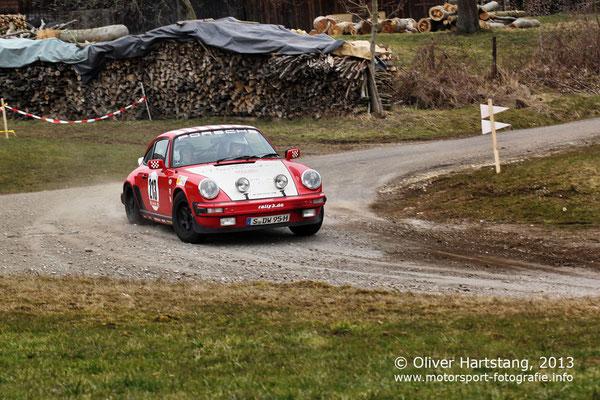 # 213 - Tino Schmidt (Stuttgart) & Peter Hentschel (Stuttgart) / Porsche 911 Rallye