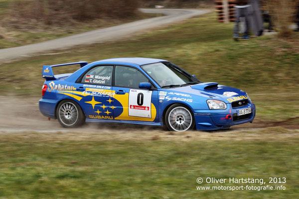 # 0 - Werner Mangold (Ellwangen) / Subaru Impreza WRX vom MSC Untergröningen
