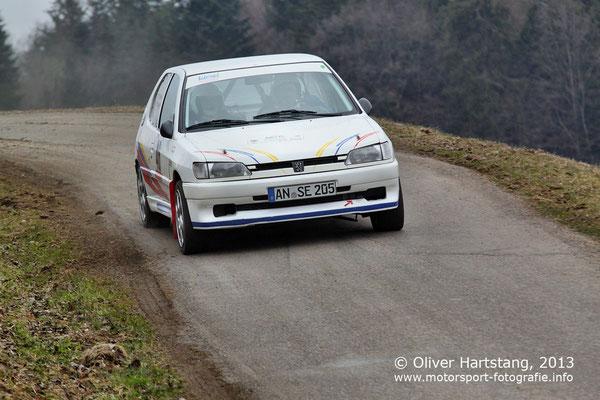 # 46 - H14 - Stefan Engerer (Weihenzell) & Rudolf Pfeiffer (Bad Windsheim) / Peugeot 306